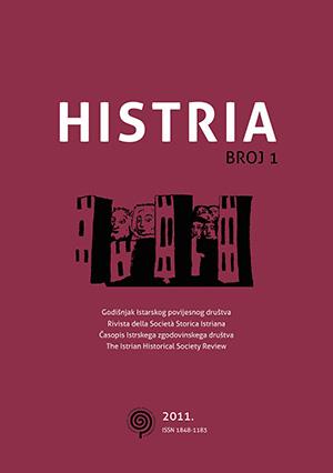 Histria svezak 1 naslovnica